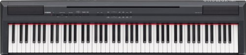 Yamaha P-105B Clavier numérique 88 touches GHS avec port USB et sortie AUX, adaptateur secteur (Noir) (Import Allemagne)