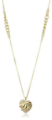 Guess Damen-Halskette Metall mit Herz UBN71294 thumbnail