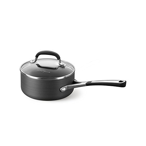 Simply Calphalon Nonstick 2 Quart Saucepan with Cover