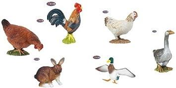 Papo-animaux De La Basse Cour - Lot De 6 [Jouet]