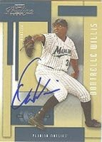 Dontrelle Willis Florida Marlins 2004 Playoff Prestige Autographed Hand Signed... by Hall+of+Fame+Memorabilia