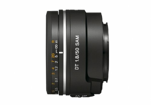 31hUfOVsKsL Sony 50mm f/1.8 SAM DT Lens for Sony Alpha Digital SLR Cameras