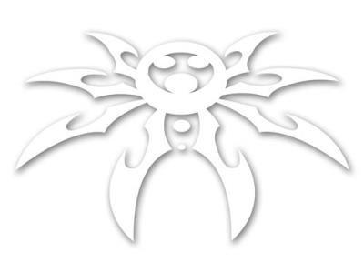 Spyder Logo Decal X-Large - 28