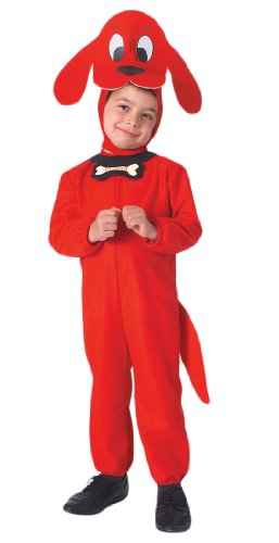 Clifford the Big Red Dog Toddler Kids Costume