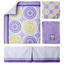 Circo® 4pc Crib Bedding Set - Purple Medallion - 1