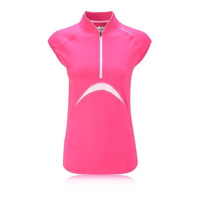 Ronhill Women's Trail Short Sleeve Zip Tee by Ronhill