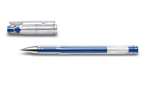 Pilot G-TEC C4 - bolígrafo de gel Azul, Transparente, paquete de 12 unidades