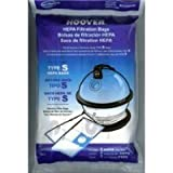 Hoover 4010806S Replacement Type S Hepa Bag (2 Pack)