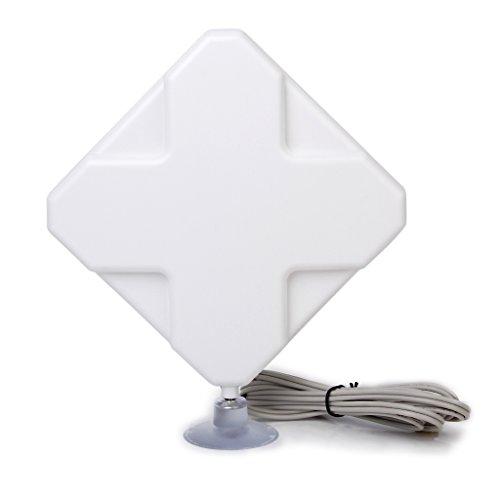 Générique Antenne 4G LTE 35dbi TS9 Connecteur Booster Amplificateur de Signal pour HuaWei Equipmen ou ZTE USB Modem