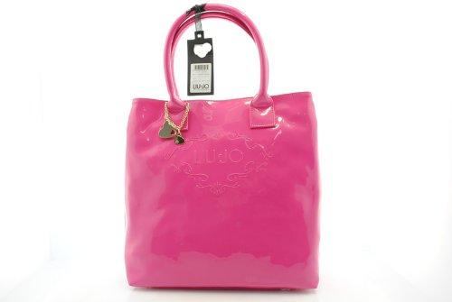 borsa liu jo modello Teresa shopping VERTICALE colore DEEP PINK coll. 2012  13 5947a024b93
