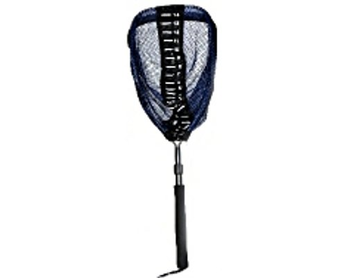 Measure net large rubber bag with telescopic handle for Amazon fishing net
