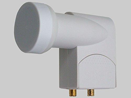 Titane 0,2 dB universel numérique double tête LNB