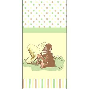 Curious George Cute and Curious Table Cover
