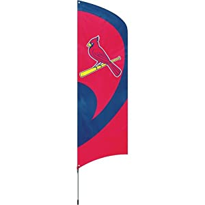 MLB St. Louis Cardinals Tall Team Flags by Party Animal