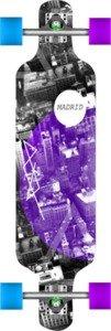 """Madrid City Complete Longboard Skateboard - 9"""" x 34.25"""""""