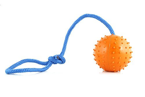 the-nero-ball-tm-rubber-dog-ball-launcher-training-exercise-and-reward-toy-police-k-9-schutzhund-dog
