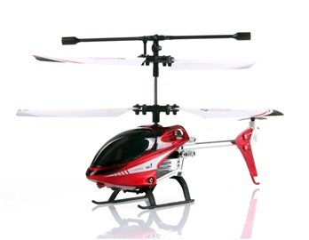 Udi U805 3-Channel R/C Radio Control Double Propeller Mini Helicopter (Red)