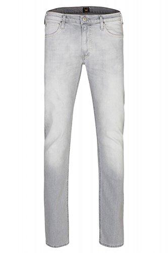 Lee Luke Slim Tapered Uomini Jeans Grigio L719KMVP, Taille:W31/L32