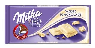 Milka (Germany) Weisse Schokolade (White Chocolate) 3-Pack