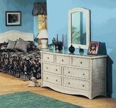 Wicker Dresser Furniture front-1066274