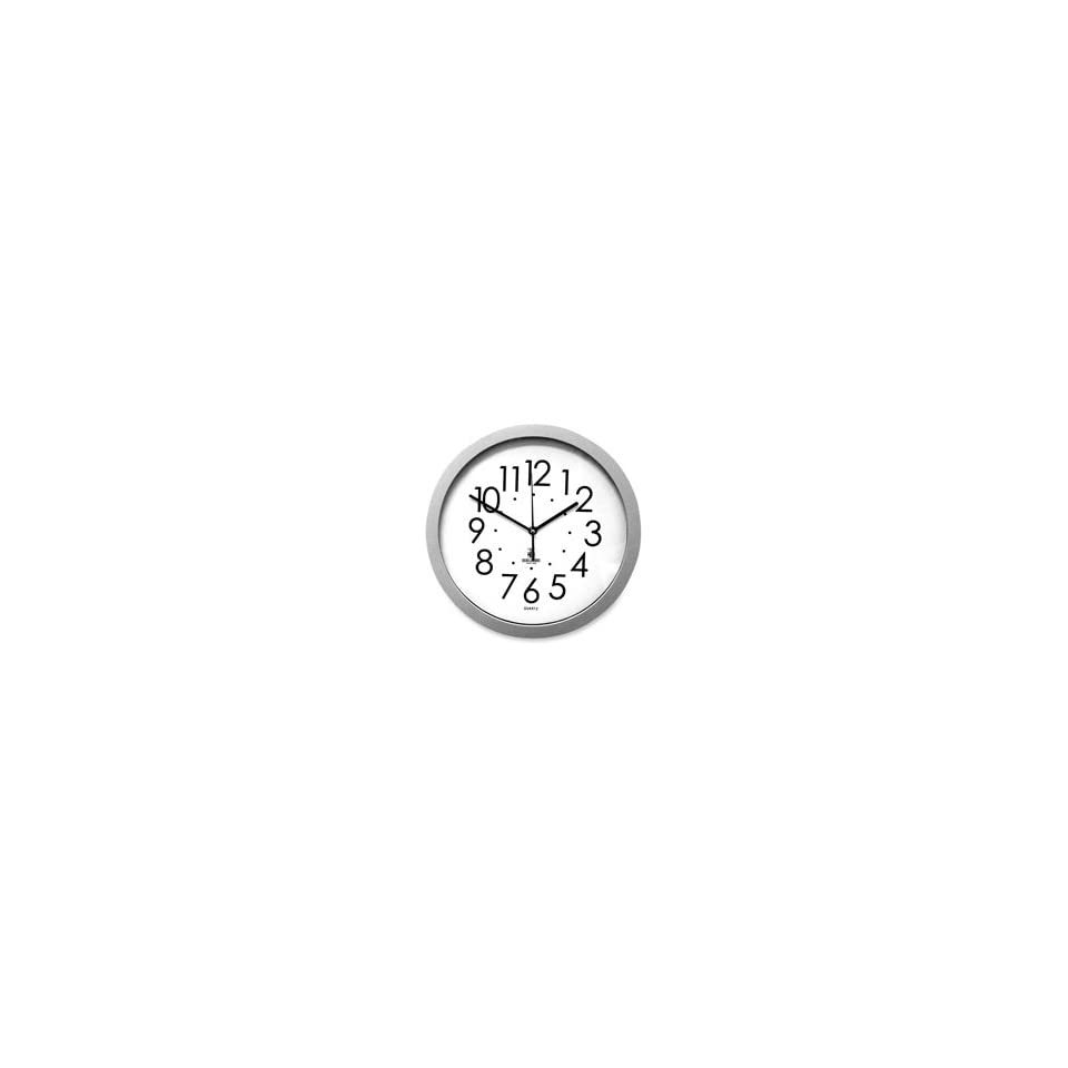 3dRose dpp/_155657/_2 Let Your Light Shine Lighthouse Shining Bright Light House At Sea Ocean Inspiring Words Saying Wall Clock 13 by 13-Inch