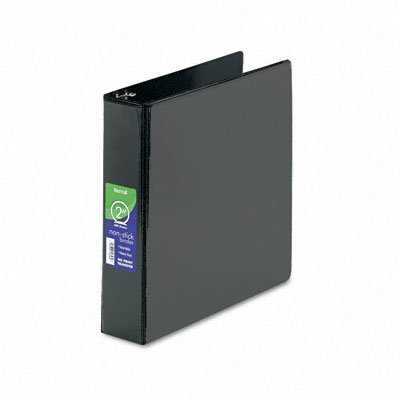 Non-stick round ring poly view binder for 11 x 8-1/2 sheets, 2 cap., black - Buy Non-stick round ring poly view binder for 11 x 8-1/2 sheets, 2 cap., black - Purchase Non-stick round ring poly view binder for 11 x 8-1/2 sheets, 2 cap., black (Samsill, Office Products, Categories, Office & School Supplies, Binders & Binding Systems, Binders, Presentation Books)