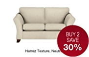 Abbey Small Sofa - 7 Day Delivery