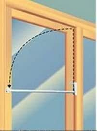 16108c 48 charley bar for sliding glass door 48 bar screen door