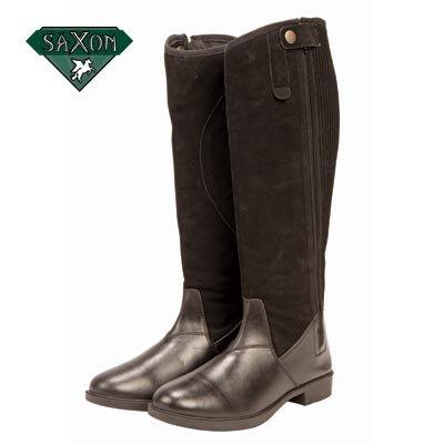 Saxon Simplicity Ladies Boot 7 Brown