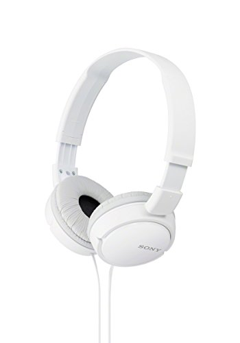 Sony Mdrzx110 Zx Series Stereo Headphones (White)
