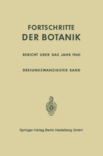 bericht-uber-das-jahr-1960-progress-in-botany-german-edition