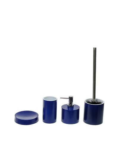 Gedy by Nameeks Piccollo Bathroom Accessory Set, Blue