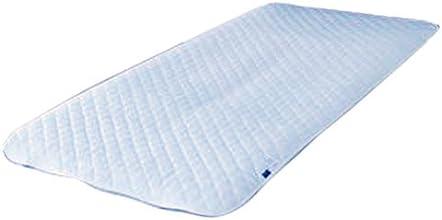 遠山産業 ひんやり感触 アウトラスト敷きパッド(シングル)【日本製】 ブルー APS-1(BL)