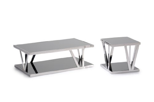 Cheap CT-CE21 Cocktal/End Table Set By Diamond Sofa (CT/CE21 2PC)