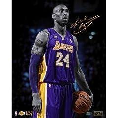Kobe Bryant Signed Epic 16 X 20 Photograph LE 24 Panini