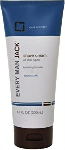 Every Man Jack Shave Cream for All Skin Types - 6.7 oz