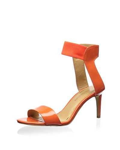 Enzo Angiolini Women's Isadora Sandal  [Orange/orange]
