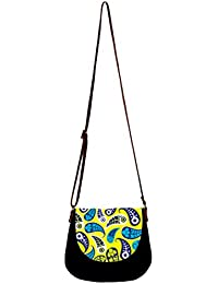 Barisa Epic Multicolor Canvas Cloth Casual Sling Bag - B01ENG35PS