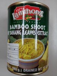 Lamthong BAMBOO SHOOT IN YANANG LEAVES EXTRACT 竹の子水煮 ヤナン入り レムトン 565g / (株)エーワン