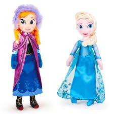 Peluche Frozen Disney 25cm UNIDAD ELSA
