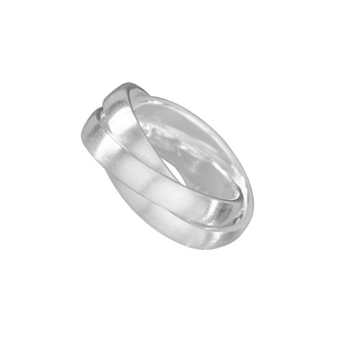 VINANI 3er Damen Ring Small Move Silber 925 Gr: 56(18) RSM