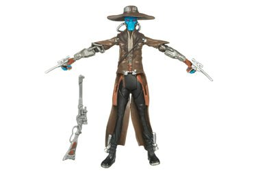 Star Wars 2009 Clone Wars Animated Action Figure CW-22 Cad Bane [Toy]