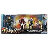 Bandai Thundercats 4 Inch Basic Action Figures Eye of Thundera 4Pack Tygra. LionO, MummRa Snarf