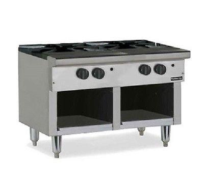 therma-tek-tsp36-commercial-jet-burner-stock-pot-range-2-3-ring-cast-iron-burners-