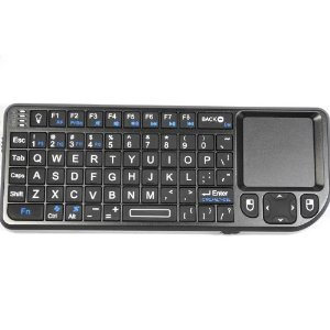 Brainydeal Bluetooth Rii Wireless Mini Qwerty Keyboard With Notebook Touchpad And Presenter Combo Fo