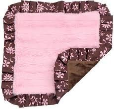 "Koala Baby ""Silky Flowers"" Security Blanket - pink, one size - 1"