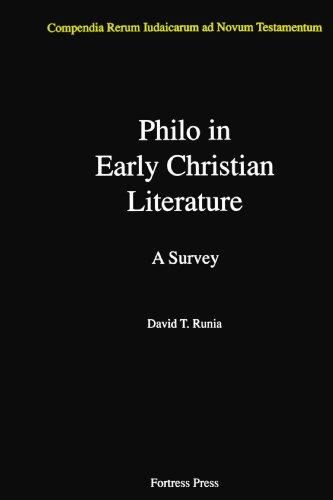 Philo in Early Christian Literature (Compendia Rerum Iudaicarum Ad Novum Testamentum)