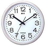 MAG (マグ) ウォールクロック 電波時計 マルス W-398 PW (パールホワイト)
