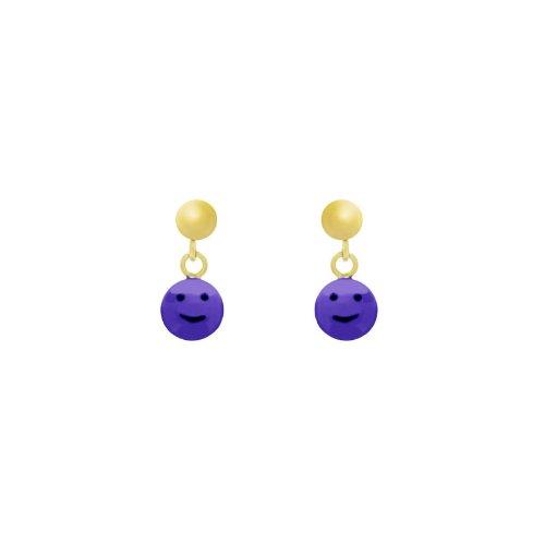 14k Gold Baby Earrings