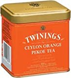 Twinings Ceylon Orange Pekoe Tea, Loose Tea, 3.53-Ounce Tin